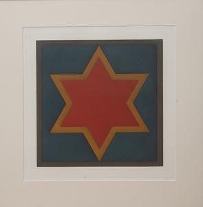 SOL LEWITT (1928-2007): STARS-RED CENTER