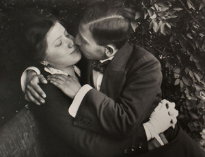 ANDRÉ KERTÉSZ (1894-1985): LOVERS, BUDAPEST