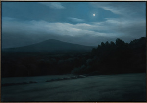ROBERT JORDAN (1925-1993): AUGUST MOON, SOUTH CONWAY