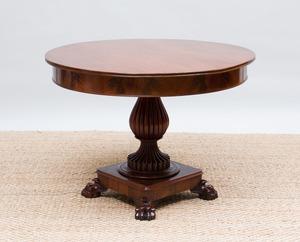 GEORGE III MAHOGANY CENTER TABLE
