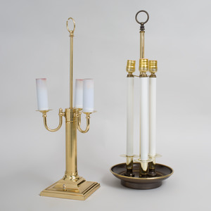 Two Bouillotte Lamps