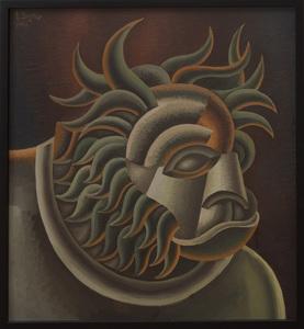 FORTUNADO DEPERO (1892-1960): TESTA DI LEONE