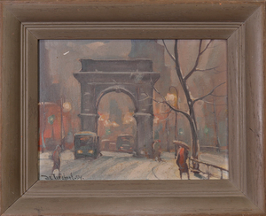 BELLA DE TIREFORT (1894-1993): WASHINGTON SQUARE PARK