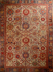Heriz Pale Ground Carpet