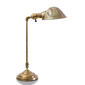 Articulated Brass Desk Lamp