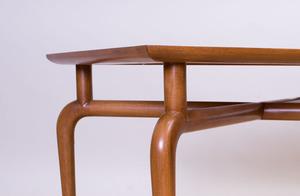 T.H. ROBSJOHN GIBBINGS STYLE WALNUT SIDE TABLE