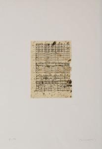 JANNIS KOUNELLIS (b. 19936): LO FARO IL LETTERATO, TUTTA LA VITA; AND ELLETRA