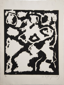 A.R. PENCK (b. 1939): UNTITLED, FROM 8 ERFAHRUNGEN