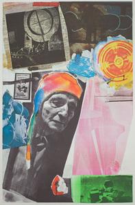 ROBERT RAUSCHENBERG (1925-2008): HOMAGE TO FREDERICK KIESLER