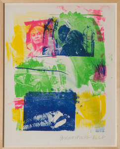 ROBERT RAUSCHENBERG (1925-2008): STORYLINE I, FROM REELS B + C