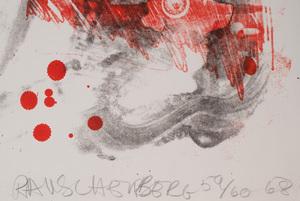 Robert Rauschenberg (1925-2008): Love Zone, from  Reel B + C