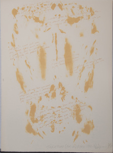 VITO ACCONCI (b. 1940): TOUCH STONE (FOR V2)