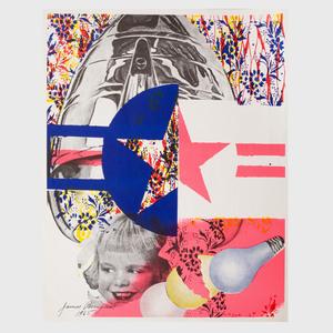 James Rosenquist (1933-2017): Castelli Gallery Poster