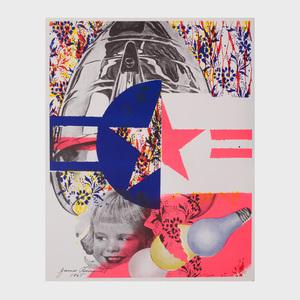 James Rosenquist (b. 1933):  Castelli Gallery Poster