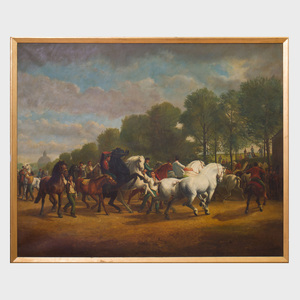 After Rosa Bonheur (1822-1899): The Horse Fair