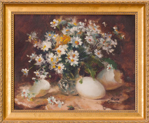 RUTH BADERIAN (b. 1927): FLOWERS AND EGGSHELLS