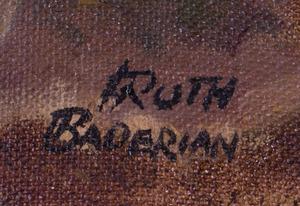RUTH BADERIAN (b. 1927): FLOWERS AND EGGSHELLS