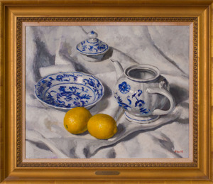 GREGORY HULL (b. 1950): BLUE DANUBE