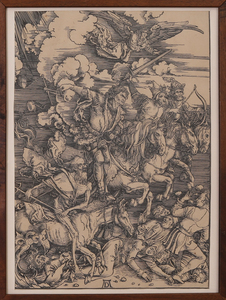 AFTER ALBRECHT DURER (1471-1528): BATTLE SCENE
