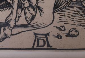 AFTER ALBRECHT DURER (1471-1528): BATTLE SCENE