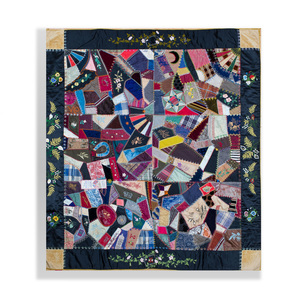 Crazy Quilt for the 8th Reunion of the Ex-Confederate Association of Missouri