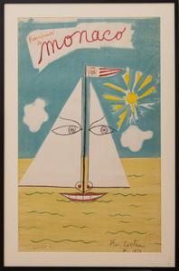 JEAN COCTEAU (1889-1963): MONACO