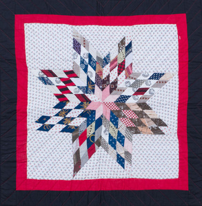 Judy Mathieson: A Star Quilt and Two Mariner's Compass Quilt Blocks