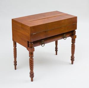 Late Classical Mahogany Writing Desk