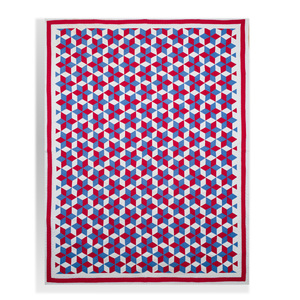 Three American Pieced Cotton Quilts
