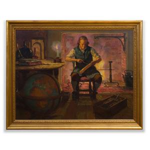 Horace Devitt Welsh (1888-1942): Ben Franklin's Back Was Cold