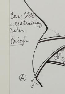 ANTONIO LOPEZ (1943-1988): LINGERIE DESIGNS: SEVEN SKETCHES
