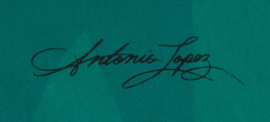 ANTONIO LOPEZ (1943-1988) AND JUAN RAMOS (1942-1995) AND JUAN RAMOS (1942-1995): THREE SCARVES