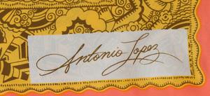ANTONIO LOPEZ (1943-1988) AND JUAN RAMOS (1942-1995): THREE SCARVES