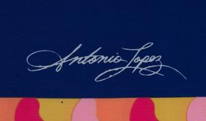 ANTONIO LOPEZ (1943-1988) AND JUAN RAMOS (1942-1995): FIVE SCARVES