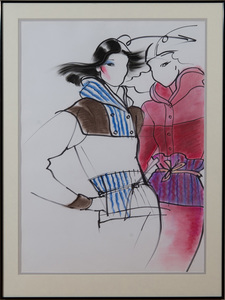 ANTONIO LOPEZ (1943-1988): TWO FIGURES