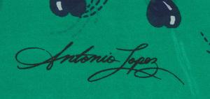 ANTONIO LOPEZ (1943-1988) AND JUAN RAMOS (1942-1995): NINE FABRIC SAMPLES