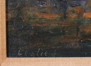 EDWARD SMITH LESLIE (1891-1960): UNTITLED (LANDSCAPE)