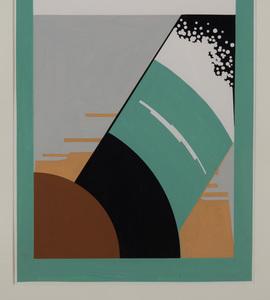 ANTONIO LOPEZ (1943-1988): SCARF DESIGNS: TWO SKETCHES