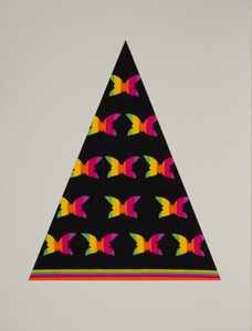 ANTONIO LOPEZ (1943-1988) AND JUAN RAMOS (1942-1995): FOUR FABRIC SAMPLES (BUTTERFLIES)