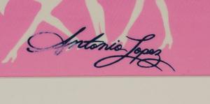 ANTONIO LOPEZ (1943-1988) AND JUAN RAMOS (1942-1995): SIX FABRIC SAMPLES (UMBRELLAS)