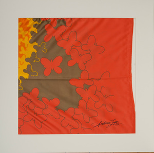 ANTONIO LOPEZ (1943-1988) AND JUAN RAMOS (1942-1995): FOUR SCARVES