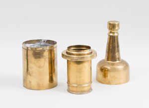 Group of Three Bottle-Form Articles