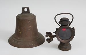 Railroad Lantern, The 'Neverout Insulated Kerosene Safety Lamp'