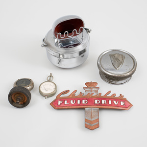 Group of Five Automobile Accessories