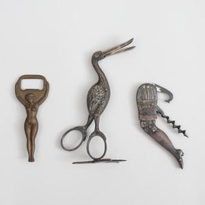 Three Metal Bar Accessories