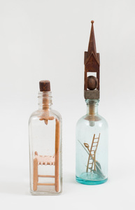 Two Objects in Bottles