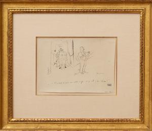 JULES PASCIN (1885-1930): L'INSTANT DE FAIRE MA PETITE TOILETTE...