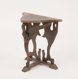 Empire Style Oak Console Table