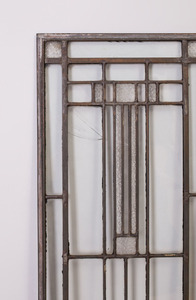 AMERICAN SIDE LIGHT PANEL ATTRIBUTED TO FRANK LLOYD WRIGHT