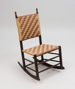 Shaker Stained Wood No. 3 Rocker